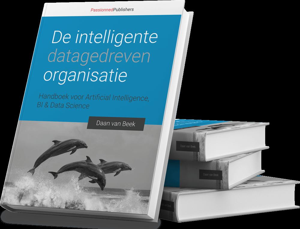 Cover Big Data-boek 'De intelligente, datagedreven organisatie'
