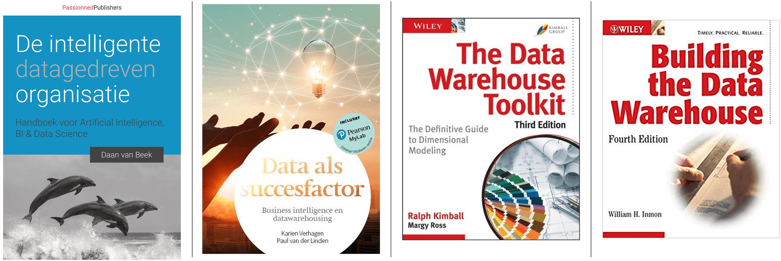 Boeken over data warehousing