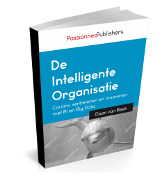 Cover Business Intelligence boek 'De intelligente organisatie'