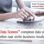 de opleiding 'Master of Data Science'