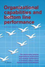 Organizational capabilities and bottom line performance