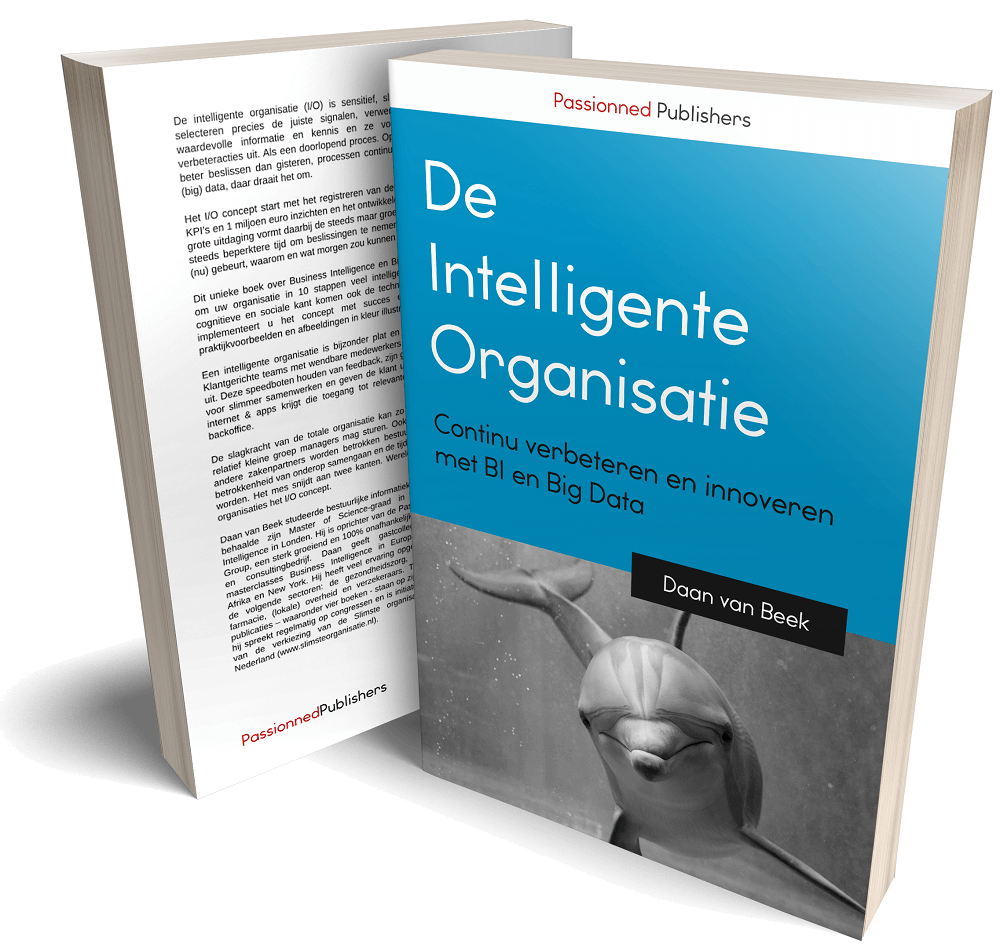 Business Intelligence boek 'De intelligente organisatie'
