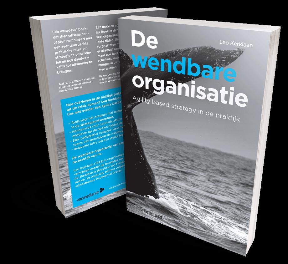 Cover boek 'De wendbare organisatie'