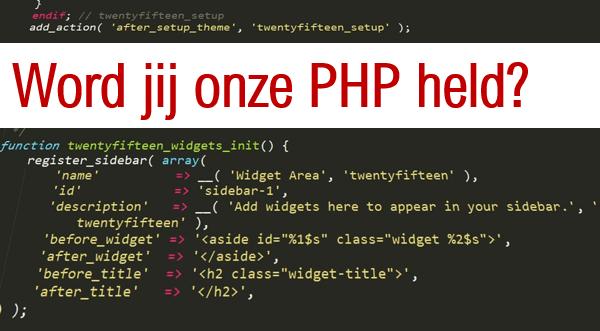 Vacature | PHP Developer | Ben jij onze PHP held?